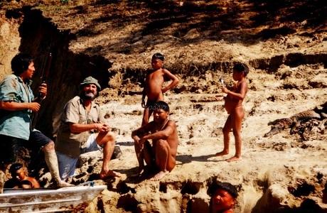 1999 viaggio in Brasile Korubo