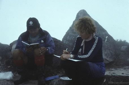 2001 viaggio in Brasile Pico da Neblina