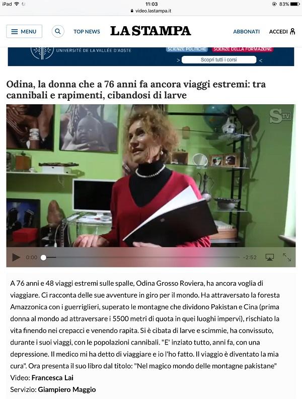 video_intervista della Stampa